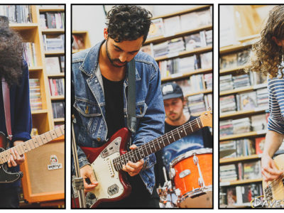 The Leers live at Southbound Records, Auckland