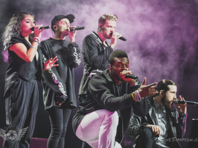 Pentatonix live at the Vector Arena, Auckland, September 2016