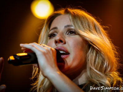 Ellie Goulding live at Vector Arena, Auckland
