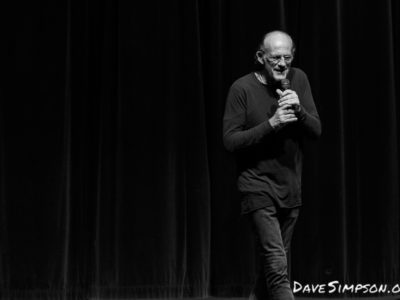 Christopher Lloyd live at Armageddon Expo Auckland