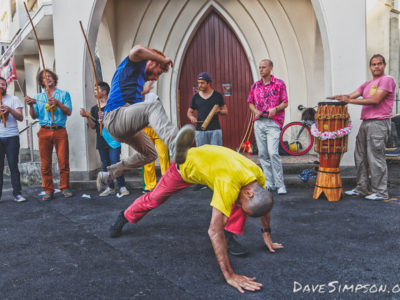 Capoeira Mandinga Aotearoa at K Rd First Thursdays 1 December 2016