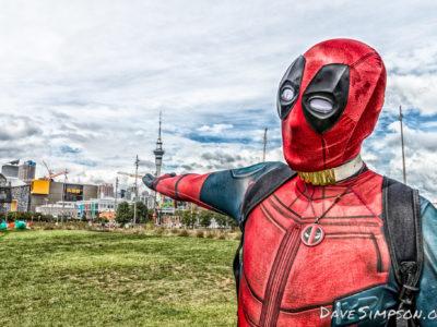 Deadpool Cosplay – Auckland